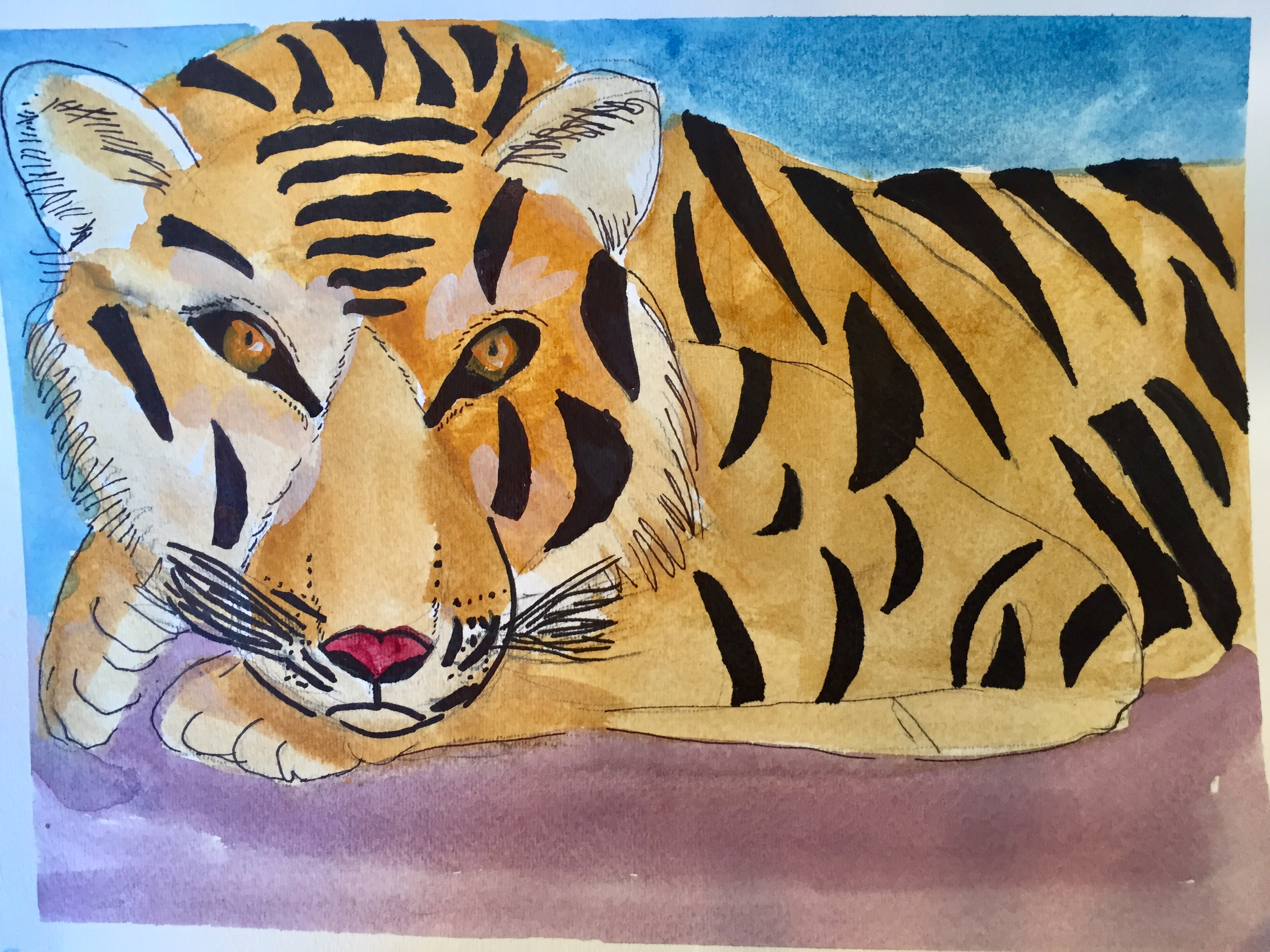 Anika's Tiger