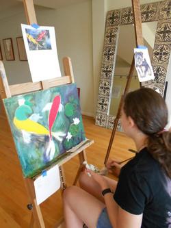 Emma Isaac painting