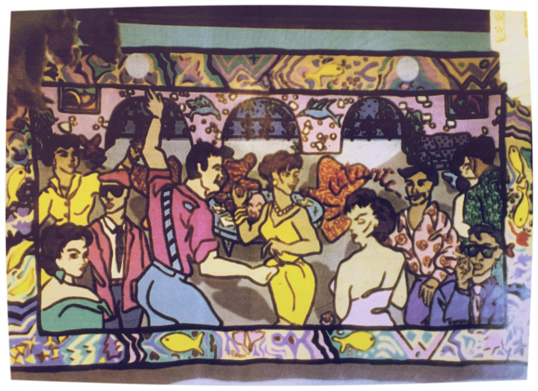Mural at Cafe Ba-Ba-Reeba