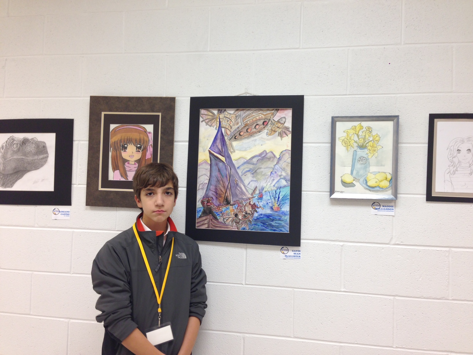 Chicago Top Artist - 1st Place, Gavin Mcallister