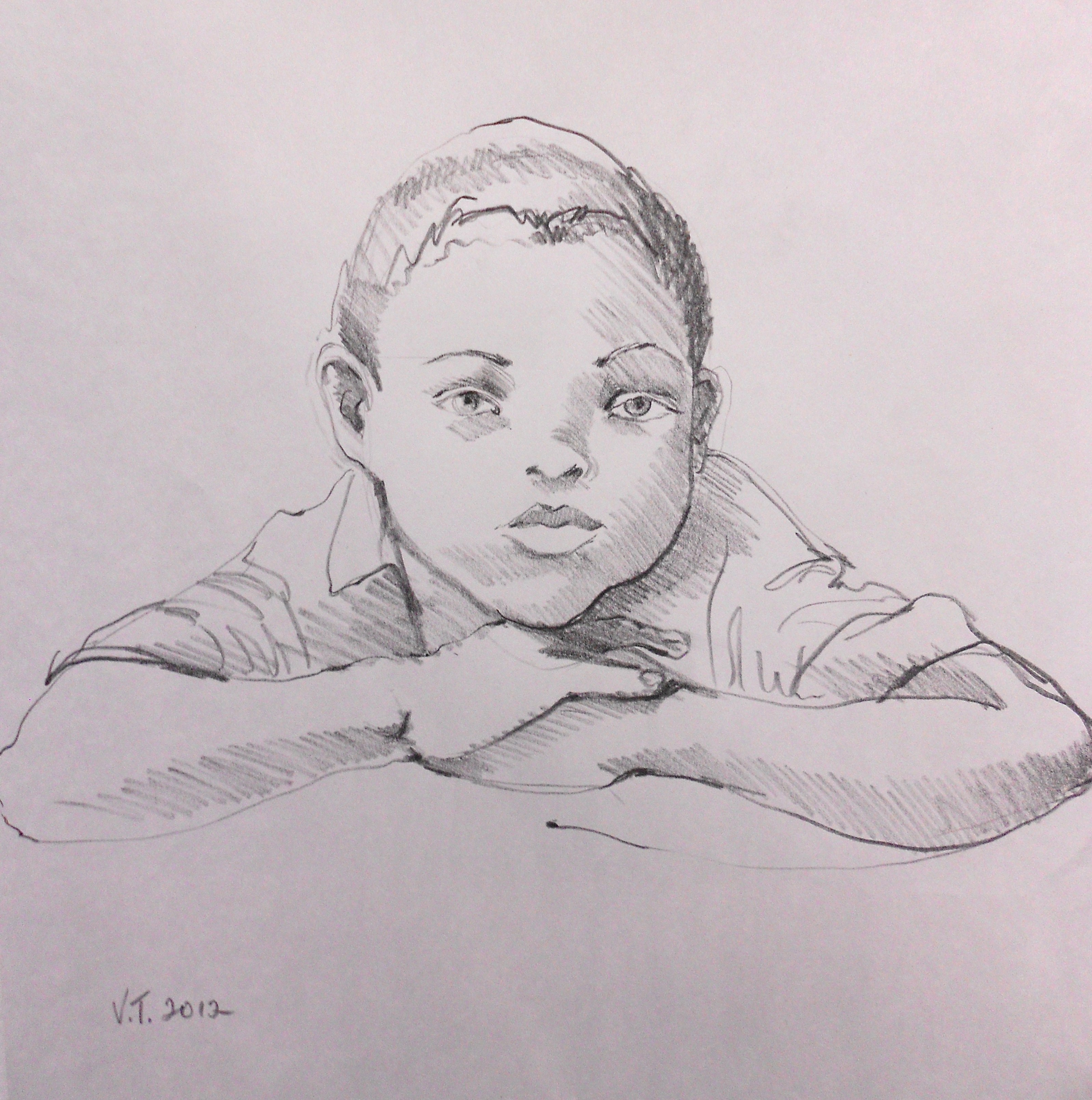 Portrait of Young Boy III