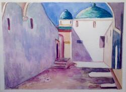 Study of Kandinsky's Tunisia