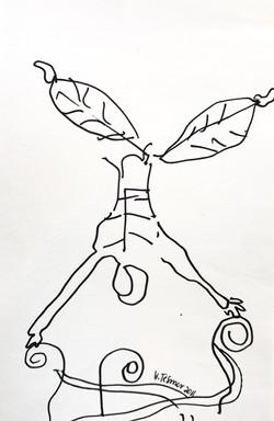 Sketch at Cirque du Soleil