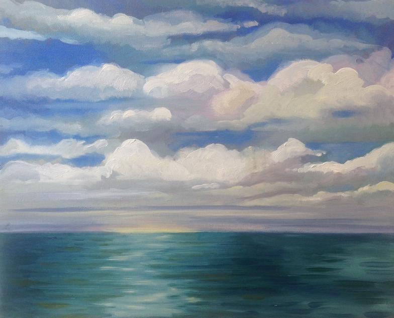 Lake Painting VIII