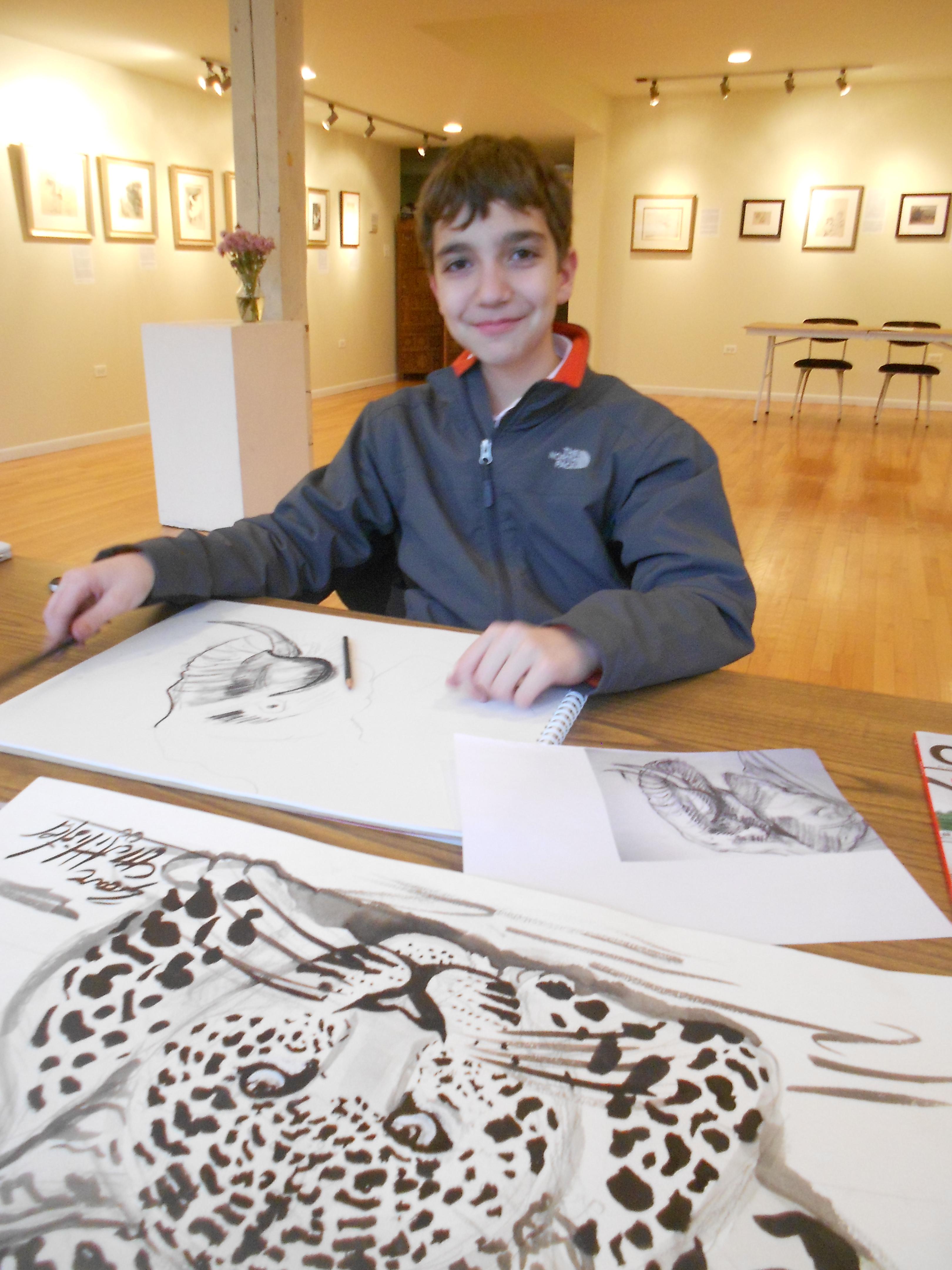 Gavin Drawing