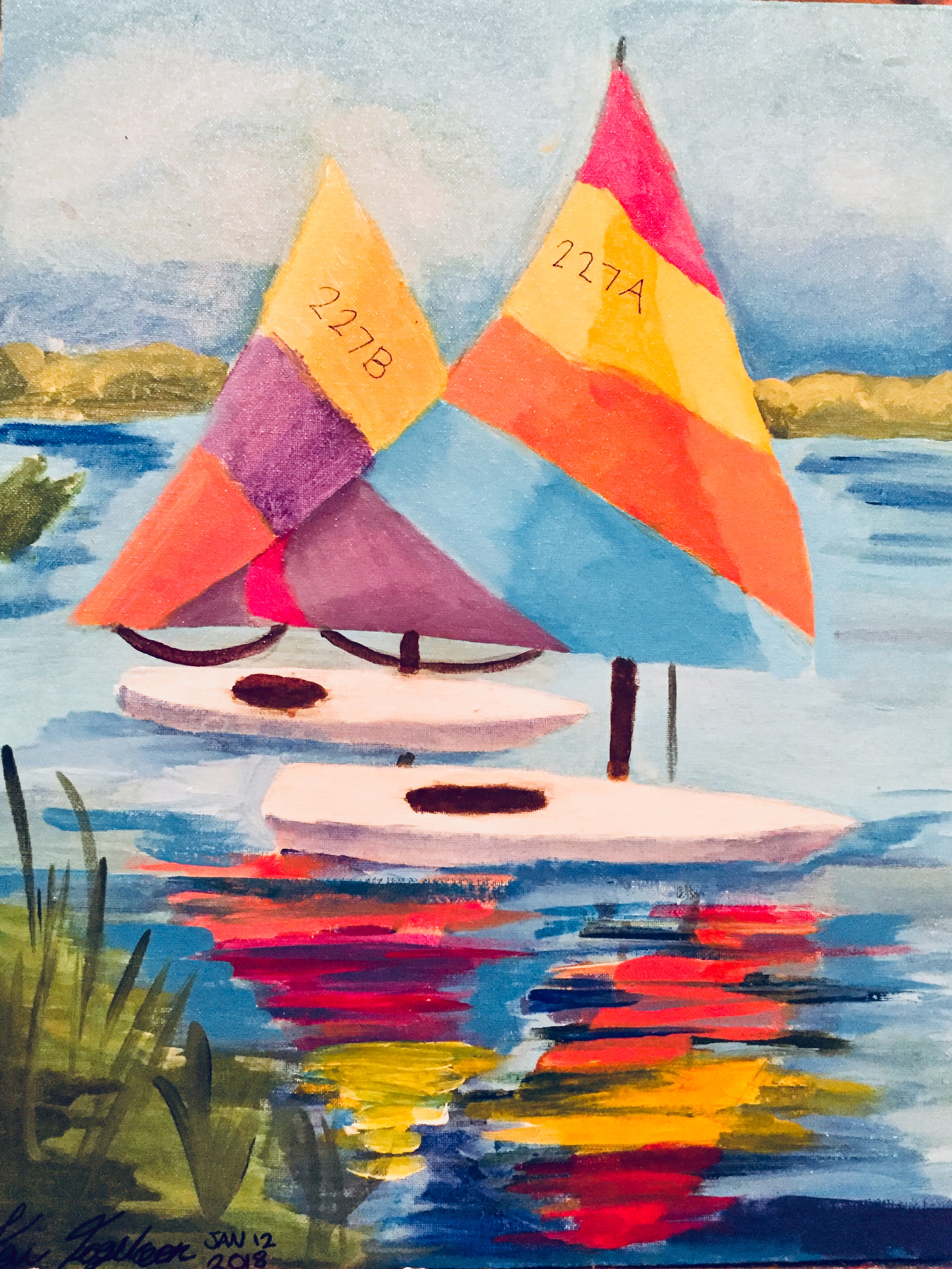 Kai's Sailboats
