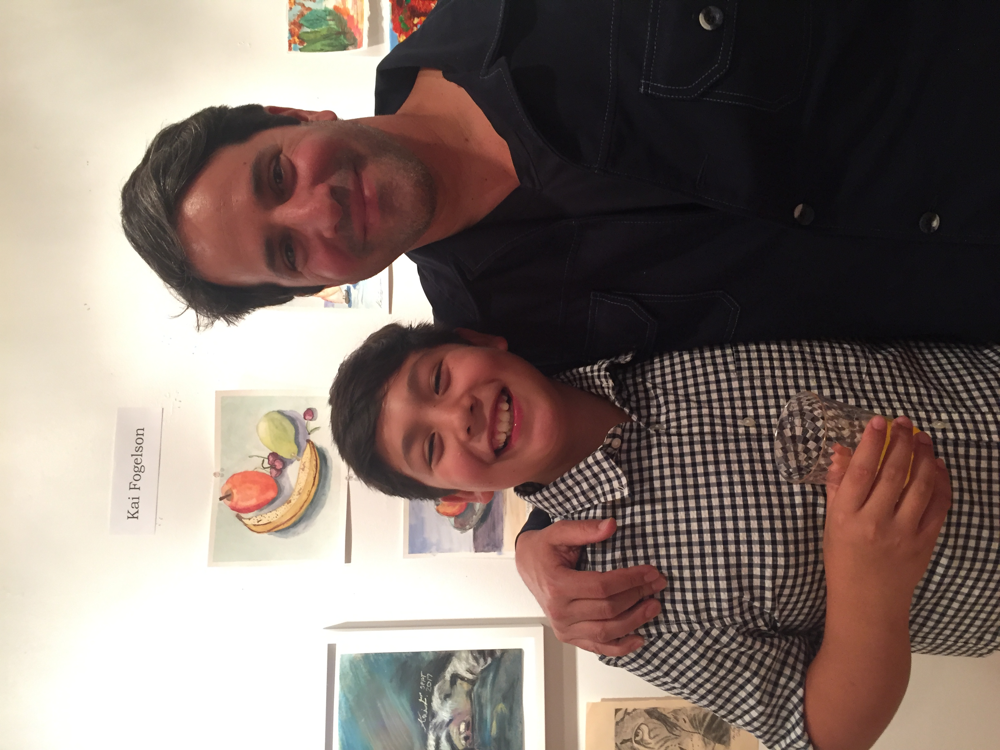 Kai and Doug Fogelson