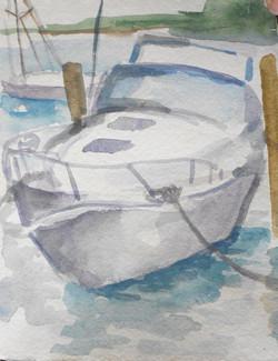 Docked Boat, Stanley Key