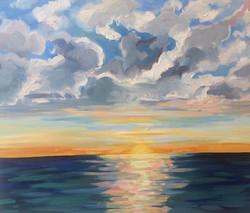 Lake Painting IX