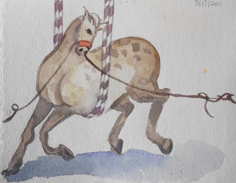 Circus Horse Galloping II