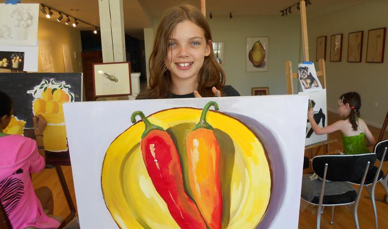 Lily and her peppers
