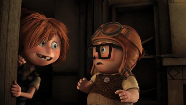 Carl & Ellie, UP, Disney Pixar
