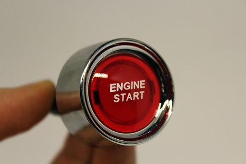 Botão Engine Start Vermelho
