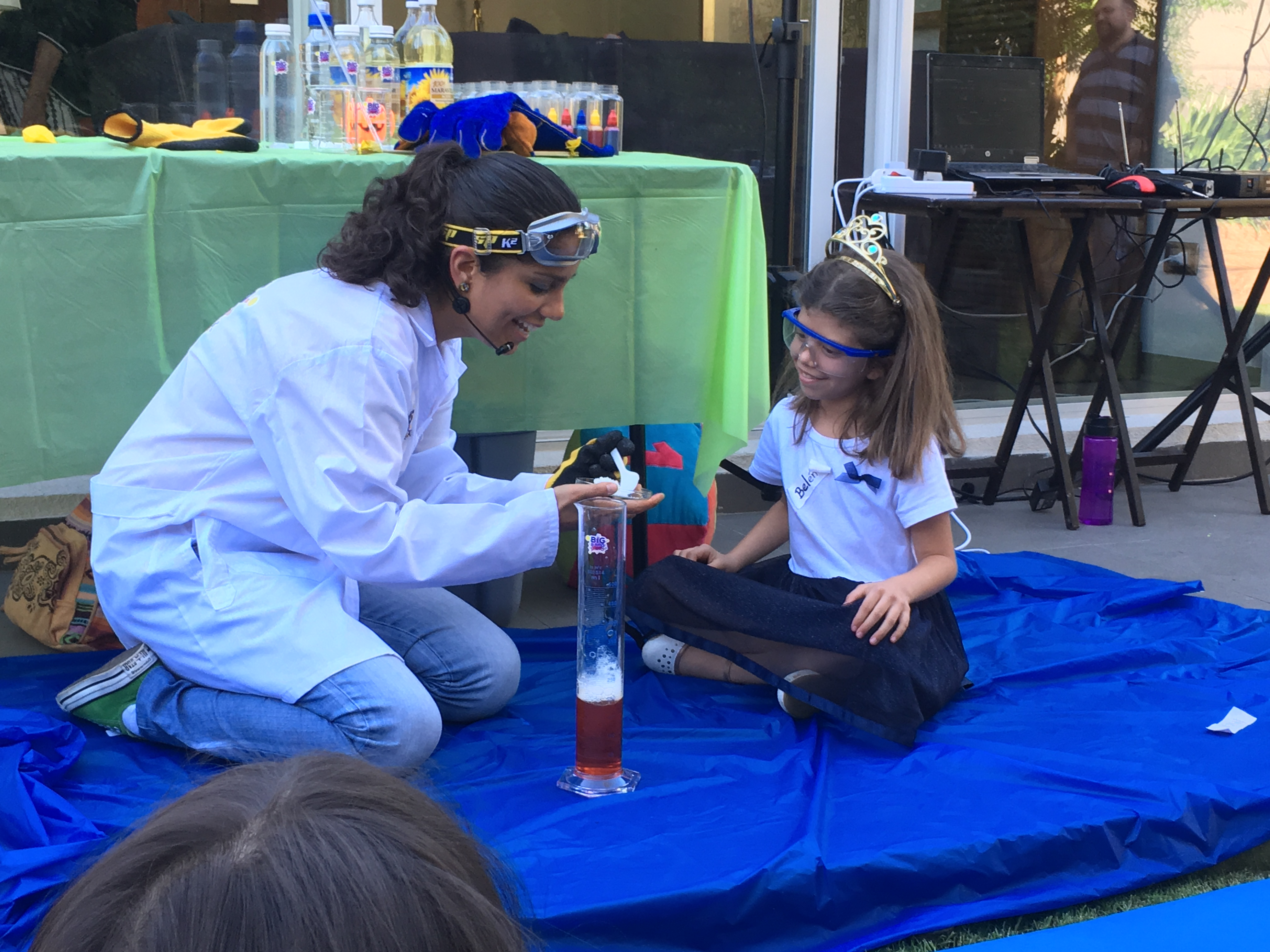 Las princesas también hacen ciencia