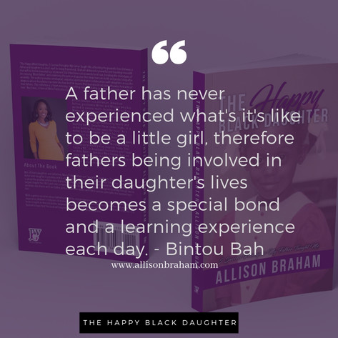 The Happy Black Daughter Quote