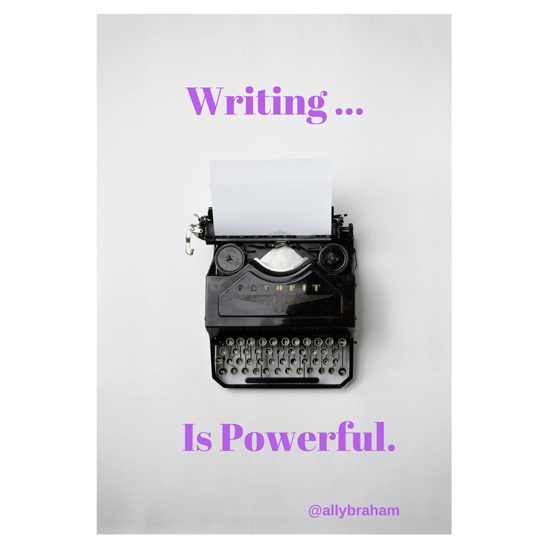 Feeling Powerful and Free While Writing.