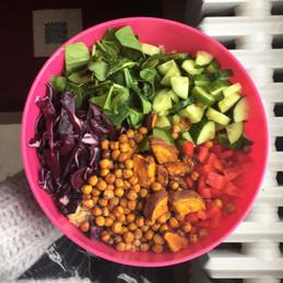 Quinoa Salad with Veg