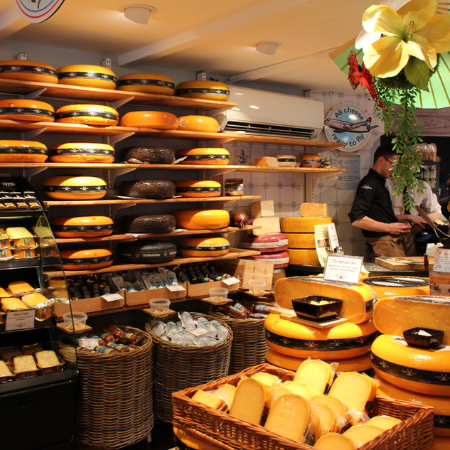 Cheese shop in Amsterdam