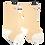 Thumbnail: Mason Knee Length Socks 3-Pack