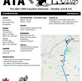 ATA Trials 2021 CMA Canadian Nationals - October 2 - 3, 2021