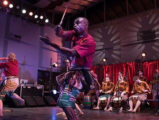 Nani Agbeli-Agbekor dancing, CalArts 4.j