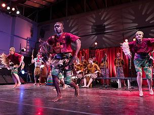 Nani Agbeli-Agbekor dancing, CarlArts 2.