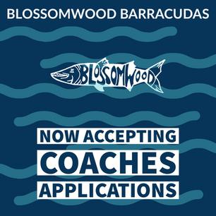 Barracudas Swim Coaches Needed