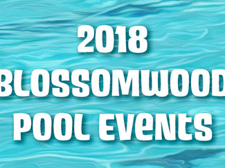 2018 Pool Events