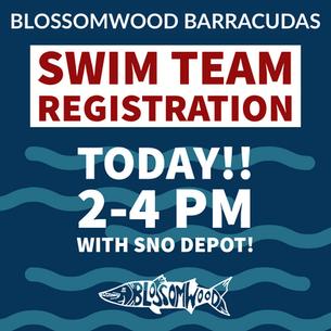 Swim Team Registration!