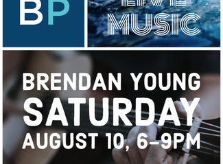 Live Music, August10, 6-9pm