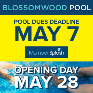 Pool Dues Deadline, May 7