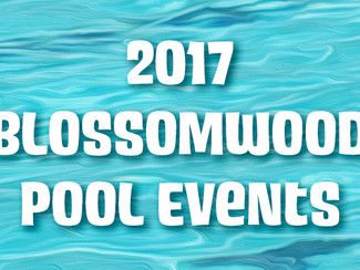 2017 Pool Events