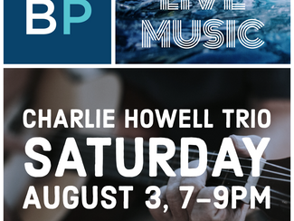 Live Music! August 3, 7-9pm