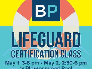 Lifeguard Certification Class - Sign Up Today!