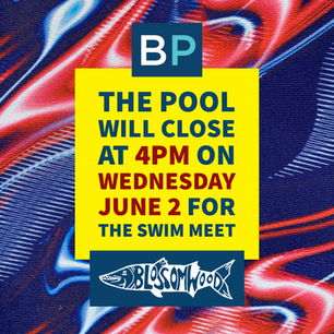 The Pool Will Close Early for Home Swim Meets