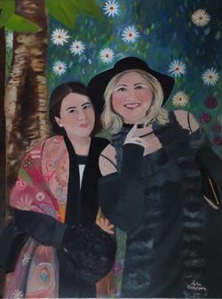 Anita et Nina - Salon d'automne