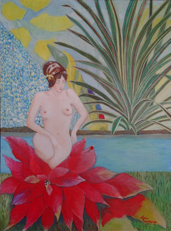 Serenite - Acrylique sur toile - 60 x 80