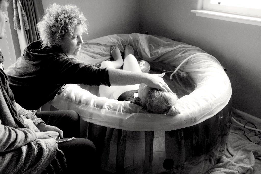 Gentle midwifery care.