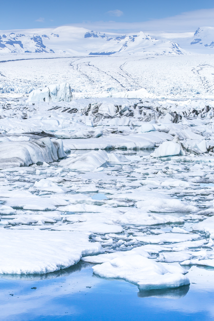 LANDSCAPE-023 ヨゥクルスアゥルロン 氷河湖