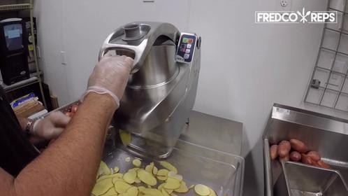 Electrolux Professional TRS Veggie Cutter: Scalloped Potatoes (20 lb)