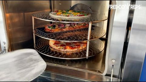 Doyon Trio Ventless Oven: Veggie Flatbread
