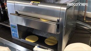 Antunes Flatbread Toaster: Corn Tortillas