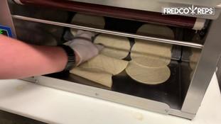 "Antunes Flatbread Toaster: Corn Tortillas - 6"" & 6.5"""