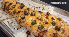 Electrolux Professional Air-O-Convect Combi Oven: Herb Parmesan & Cheddar Jalepeno Focaccia