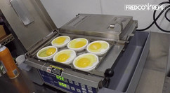 Antunes Dual Zone Egg Station: Omelette and Over Medium