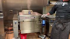 Electrolux Professional Pressure Braising Pan: Braised Chicken Thighs