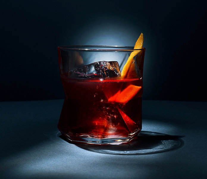 cocktail Rocks and Rye