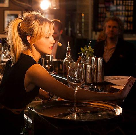 Amanda Boucher barmaid