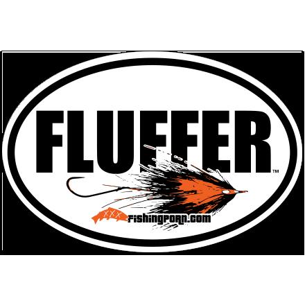 """Fluffer 4""""x6"""" Decal"""