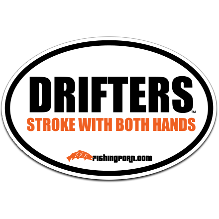 "Drifters Stroke... 4""x6"" decal"